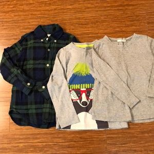 Other - Boys long sleeve t-shirts (4-5years old)